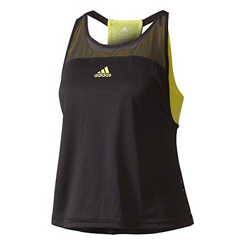 adidas Damen US Series Tanktop, Black, 40 (Tennis Bekleidung Schwarz Damen)