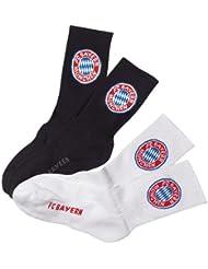 FC Bayern M/ünchen Fanartikel Sportsocken Kids Gr 31-34