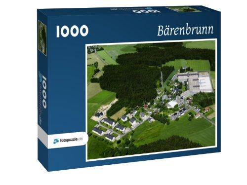 Bärenbrunn - Puzzle 1000 Teile mit Bild von oben