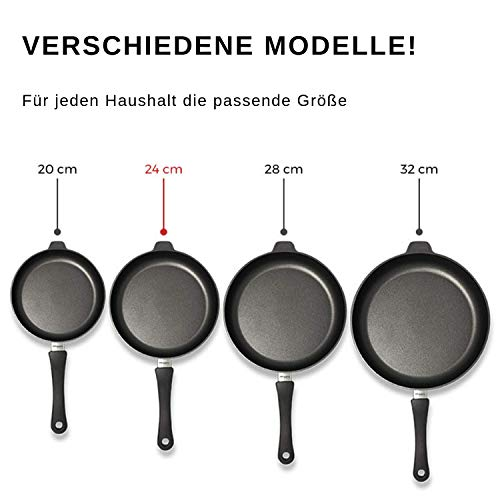Lieblingspfanne Hochrandpfanne Aluminium Gus Antihaft 20 cm, Höhe 7 cm INDUKTION - 4