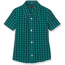 Tommy Hilfiger Essential Overdye Gingham S/S, Blusa para Bebés