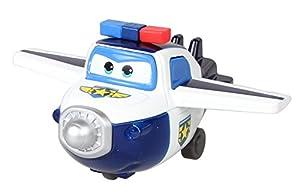 Alpha Animation & Toys Super Wings Die-Cast Paul Metal vehículo de Juguete - vehículos de Juguete (Metal, Marina, Color Blanco, 4 año(s), 9 año(s), Niño/niña, 44 g)