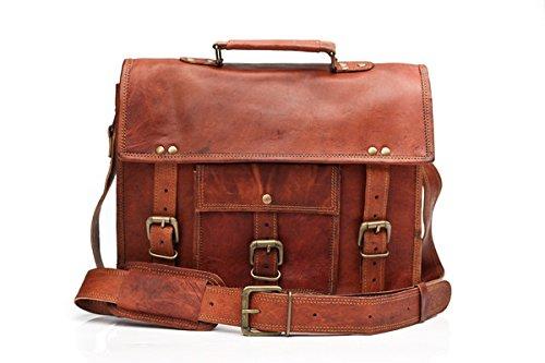 Barello Winchester cartable en cuir sac en bandoulière...
