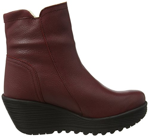 FLY London Damen Gore-Tex YOLK060FLY Kurzschaft Stiefel Rot (Cordoba Red Warm Lining)