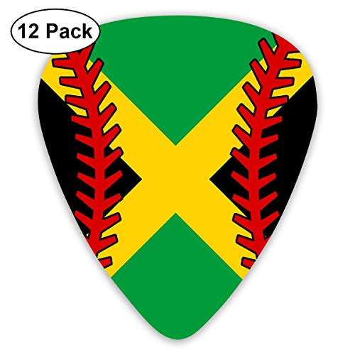 l Guitar Picks 12 Pack Classic Celluloid Medium in A Box Best Gift ()