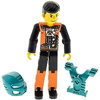 1x Lego Platte gelb 4x4 Fliese Noppe Rand Sticker Shop Skateboard 7641 6179pb018