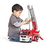 Bruder 02771 - MAN Feuerwehr mit Drehleiter, Wasserpumpe und Light & Sound Modul für Bruder 02771 - MAN Feuerwehr mit Drehleiter, Wasserpumpe und Light & Sound Modul