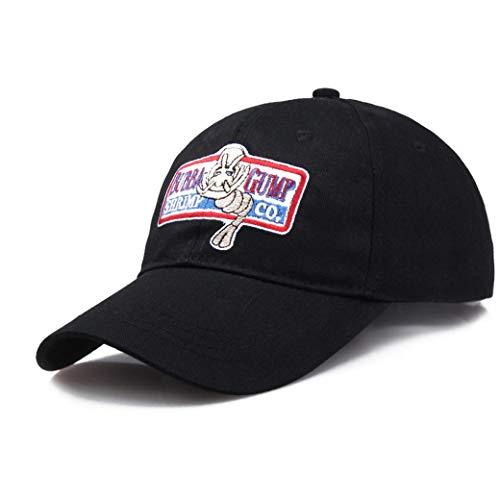 Unisexjustierbares Bubba Gump Shrimp Baseballmütze Co. Gestickte Biegung Geströmten Hut Für Frauen-Mann-Kostüm Cosplay