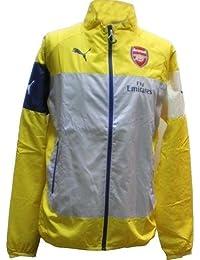 Puma Men's Arsenal Football Club Leisure Jacket with Sponsor