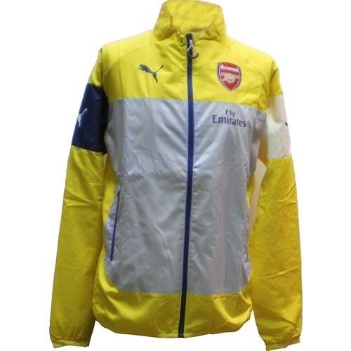 Puma Men's Arsenal Football Club Leisure Jacket with Sponsor Mehrfarbig mehrfarbig Mehrfarbig - mehrfarbig