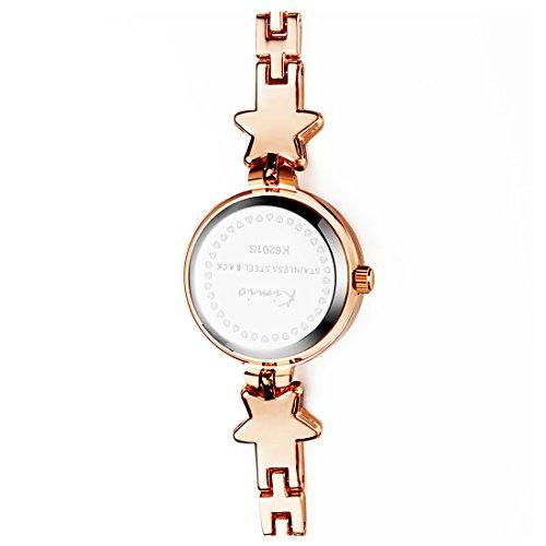 Addic Heritage & Charm Analogue Blue & Rose Gold Girls & Women's Watch - Ww468A
