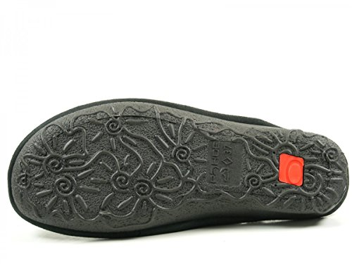 Rohde 2272, Chaussons Mules Femme Schwarz