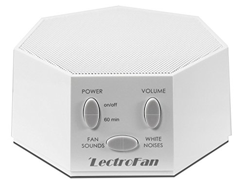lectrofan Maschine International Modell, Fan Sound und White Noise Maschine, Weiß (Sound Sleep Machine)