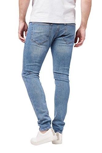 next Herren Jeans Super Skinny Fit Strahlend Blau