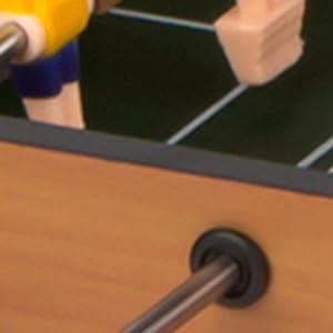 COLORBABY – Futbolín madera, azul, mesa cbgames