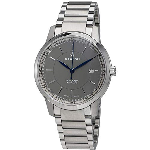 Eterna Men's 42mm Blue Steel Bracelet & Case Automatic Watch 2948-41-51-0277