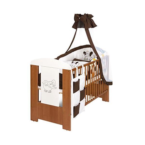 Elefant Babyzimmer Mobel Komplettset Mit Kinderbett 120x60
