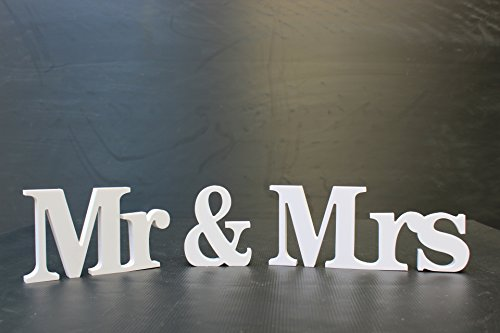 PVC en bois Lettre Alphabet Word debout mariage Home Decor