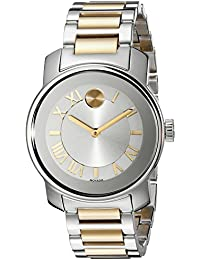 amazon co uk movado watches movado women s 3600245 two tone stainless steel watch