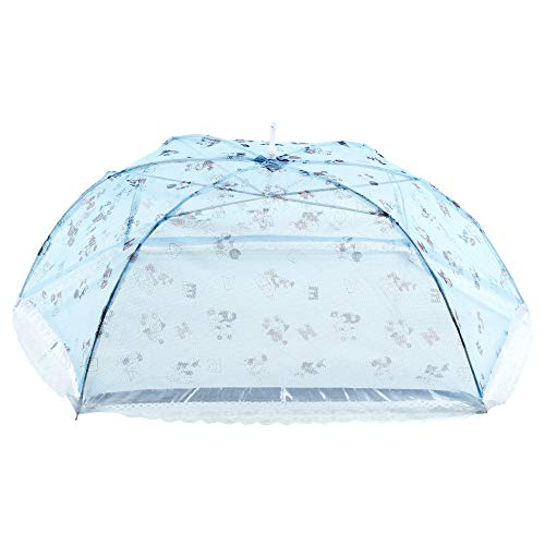 BabyShower Mosquito Net for Baby_New Born_Infants_Bed Sleeping_Blue_MSQTUB113