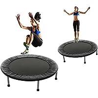 Preisvergleich für AIMADO fitness Trampolin klein 102cm faltbar,Maximalbelastung 100 kg Trampolin jumper minitrampolin