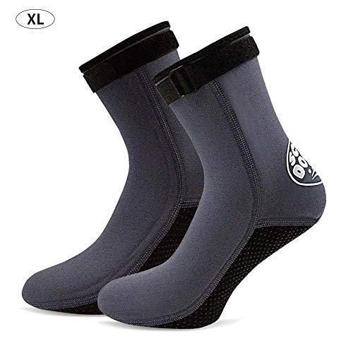 Neopren Socken Neoprenanzug Booties Scuba Diving Socks 3MM für Männer Frauen Kinder Jugend Waders Strandflosse Socken Warm Flexibel für Kajakfahren Schwimmen Schnorcheln Surfen Segeln