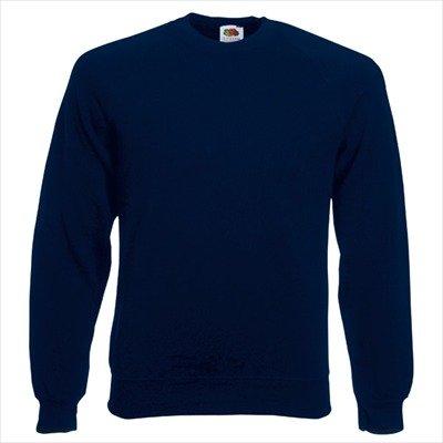 Fruit of the Loom - Sweatshirt 'Raglan Sweat' XL,Deep Navy
