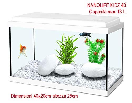 Nanolife Kidz 35 Acquario 125 l bianco