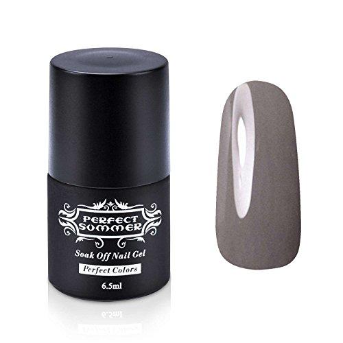 Perfect Summer Vernis à Ongles Gel UV Semi-Permanent Soak Off Nail Art French Manucure 6.5ml #63