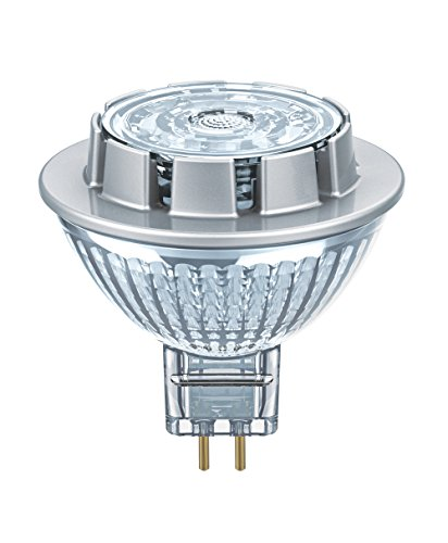 Price comparison product image Osram LED Star MR16 12 V/LED Reflector Lamp, MR16, for Low Voltage Operation, with Pin Base: GU5.3, 7.20 W, 12 V, 50 W Replacement, Beam Angle: 36 Degrees, Warm White, 2700 K, Pack of 1