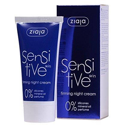 Sensitive straffende Noche Crema 50ml