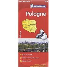 Carte NATIONAL Pologne