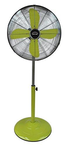 Domair pm40vert Ventilador de pie retro metálico verde