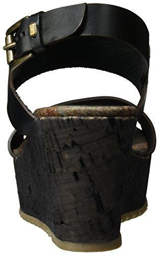 Bunker Kaye, Scarpe con Plateau Donna nero (nero)
