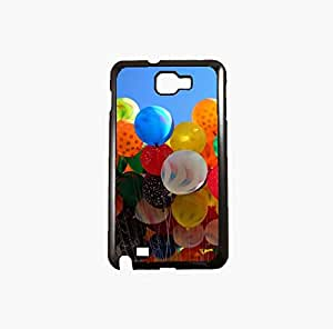 Krazycases Balloons Back Shell Cover For Samsung Galaxy Note 2