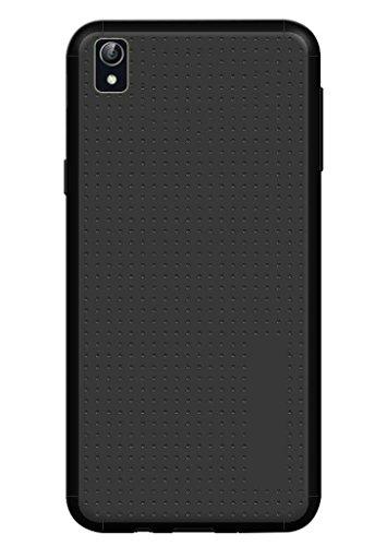 Vibhar Dotted Matte Finish Soft Back Case Cover For Vivo Y51L