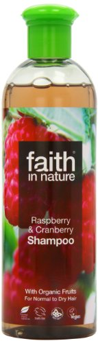 Faith In Nature Raspberry & Cranberry Shampoo For Normal To Dry Hair 400ml