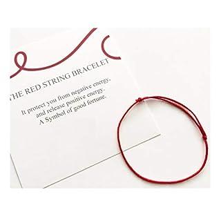 IndianStore4All Red String Bracelet Red String Protection Bracelet for Protect Negative Energy Adjustable Bracelet