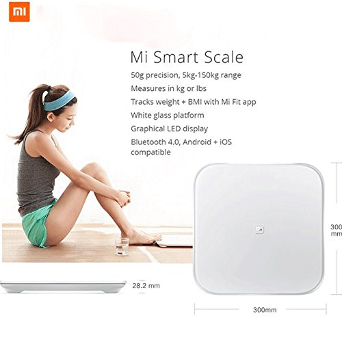 Xiaomi Mi Smart Scale - Bascula inteligente con Bluetooth
