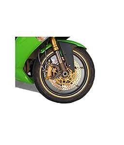 Bike/Motorcycle Rim Stickers - Yellow