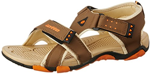 Lotto Men's Sandals Musketeers Brown/Beige GT7076 UK/IN 6