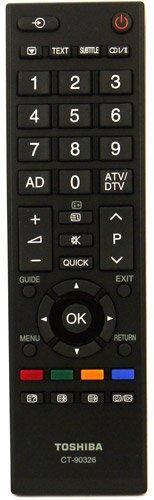 Original Fernbedienung für Toshiba CT-90326 TV Fernseher Remote Control / Neu