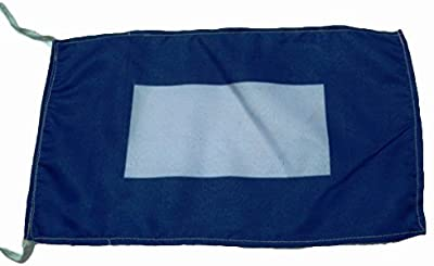 P - International Code Naval Signal Flag - 8