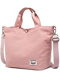 0e6c7152a591e Nlyefa Nylon Handtasche Klein Damen Shopper Klein Schultertasche  Umhängetasche für Schule Alltag Reise…