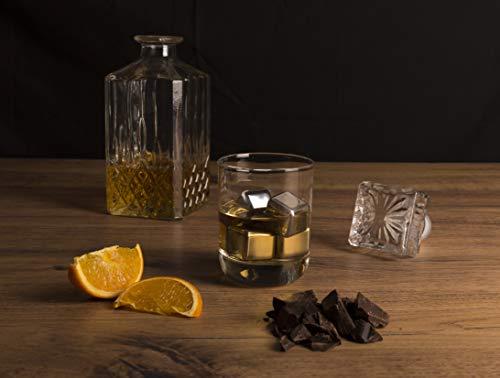 Vacu Vin 18603606 Whisky Kühlsteine 4-er Set