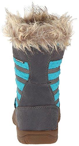 Keen Wapato Wp Y, Bottes pour la neige - Avec doublure chaude fille Grau (MAGNET/CAPRI BREEZE)