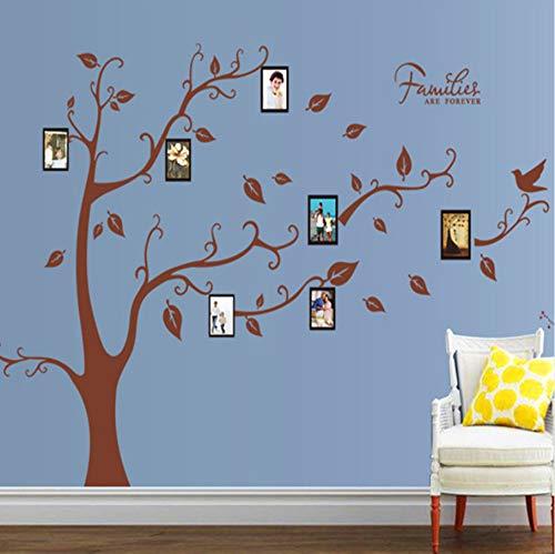 Zxfcczxf Baum Bild Dekor Wand Kunst Wandbild Poster Aufkleber Wohnkultur Wand Applique Stammbaum Mit Bilderrahmen Wand Aufkleber