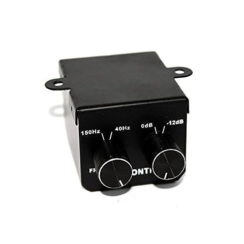 Filtre RCA régulateur contrôle à distance fréquence et volume du caisson de (Regolatore Filtro)