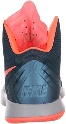 Formateurs 652777 Sneakers Chaussures Nike Lunar Hyperquickness Spice Blue/Bright Mango-Wolf Grey
