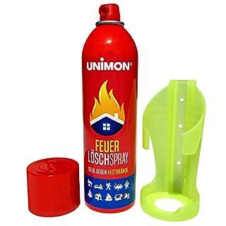 Schaum Feuerlöscher Spray | Feuerlöschspray gegen Fett und Festbrand mit Halterung für Auto Haushalt Küche Wohnmobil (1)